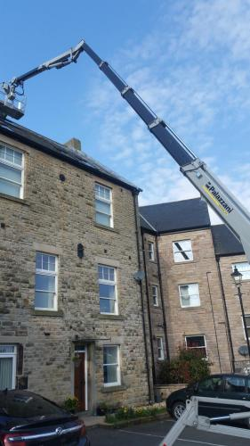 Stone work cleaning and repair