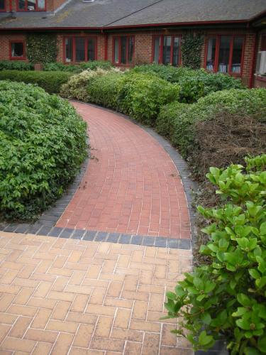 Block Paved area